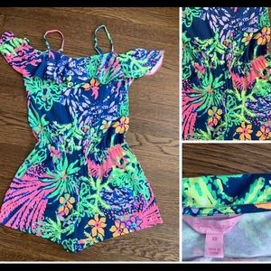 Lilly Pulitzer romper.  New without tags XS